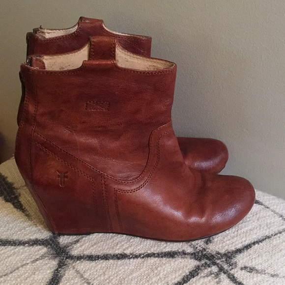 fc3a5156c80 Frye Shoes - Frye Carson Wedge Bootie